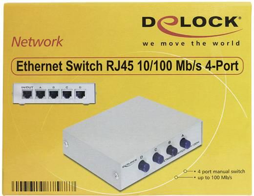 Netzwerk Switch RJ45 Delock 87588 4 Port 100 MBit/s