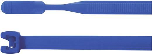 HellermannTyton 109-00167 Q30L-PA66-BU-C1 Kabelbinder 200 mm Blau mit offenem Binderende 100 St.