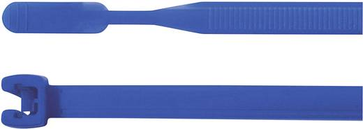 Kabelbinder 105 mm Blau mit offenem Binderende HellermannTyton 109-00147 Q18R-PA66-BU-C1 100 St.
