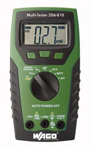 WAGO 206-810 Hand-Multimeter digital CAT IV 600 V Anzeige (Counts): 2000