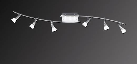 Deckenstrahler Halogen, LED G9 36 W Paul Neuhaus Bow 6511-55 Silber