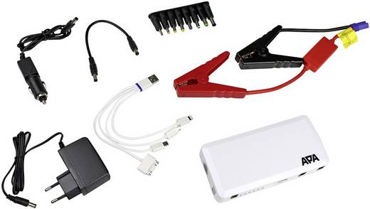 apa schnellstartsystem aide au d marrage mini lithium powerpack 16528 starthilfestrom 12 v 200. Black Bedroom Furniture Sets. Home Design Ideas
