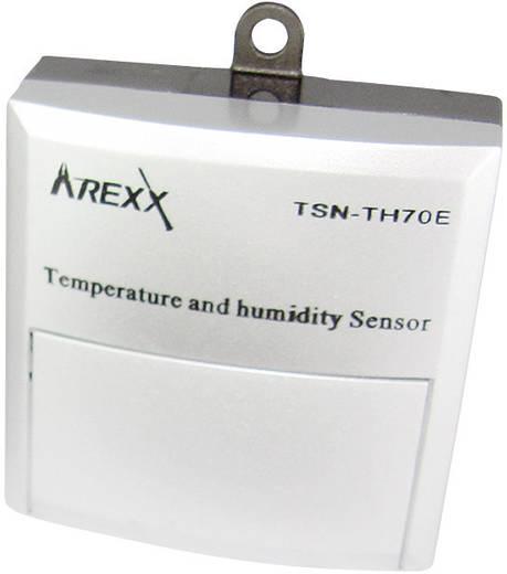 Datenlogger-Sensor Arexx TSN-TH70E Messgröße Temperatur, Luftfeuchtigkeit -40 bis 120 °C 0 bis 100 % rF Kalibriert nach Werksstandard