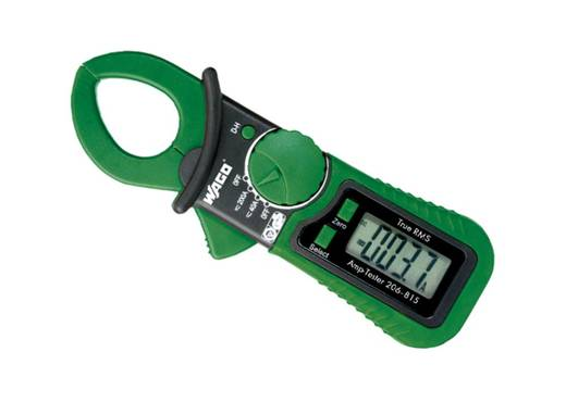 Stromzange, Hand-Multimeter digital WAGO 206-815 Kalibriert nach: Werksstandard CAT III 300 V Anzeige (Counts): 2000