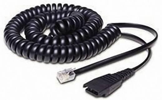 Telefon-Headset-Kabel 06.01.8800 2 m Schwarz