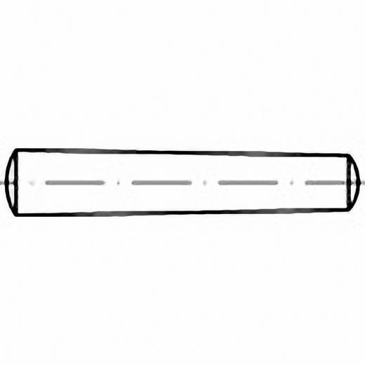 Kegelstift (Ø x L) 20 mm x 140 mm Stahl TOOLCRAFT 102909 1 St.