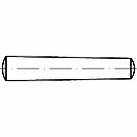 TOOLCRAFT 102759 Kegelstift (Ø x L) 6 mm x 90 mm Stahl 50 St.