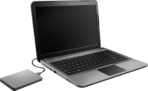 Externe Festplatte 6.35 cm (2.5 Zoll) 2 TB Seagate Backup Plus Silber USB 3.0