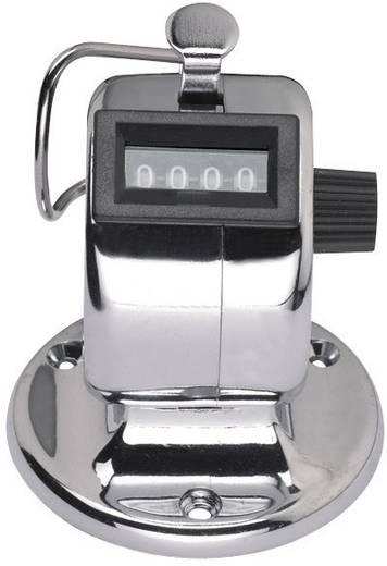 VOLTCRAFT Handzähler, mechanisch, verchromt