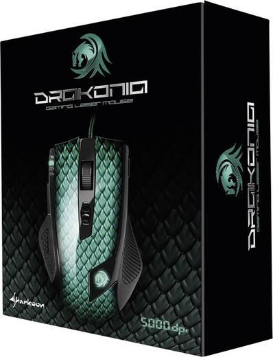USB-Gaming-Maus Laser Sharkoon Drakonia Grün