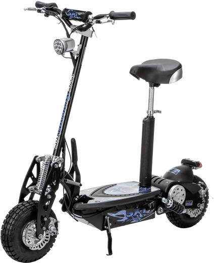 sxt scooters esc1000 2 turbo e scooter schwarz lifepo 4 36. Black Bedroom Furniture Sets. Home Design Ideas