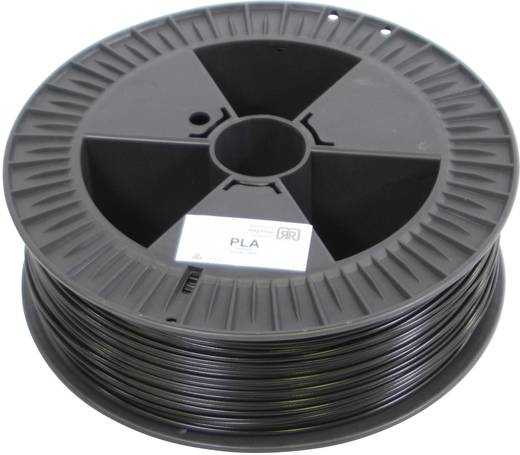 Filament German RepRap 100294 PLA 3 mm Schwarz 2.1 kg