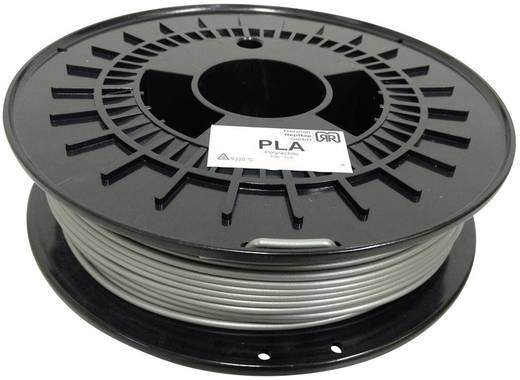 Filament German RepRap 100254 PLA 3 mm Silber 750 g