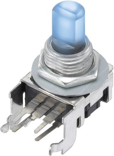 Dreh-Potentiometer mit LED Mono 0.05 W 10 kΩ 12PLB1HBF-B-15F-2B10K-002-6H 1 St.