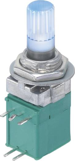 Dreh-Potentiometer mit LED Mono 0.05 W 10 kΩ 9MLB1H5B9-B-16KP-2B10K-003-6H 1 St.