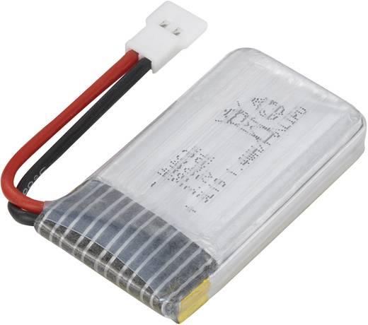 Modellbau-Akkupack (LiPo) 3.7 V 380 mAh Hubsan Flachstecker