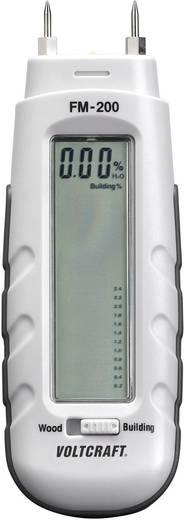 VOLTCRAFT FM-200 Materialfeuchtemessgerät Messbereich Baufeuchtigkeit (Bereich) 0.2 bis 2 % vol Messbereich Holzfeuchtig