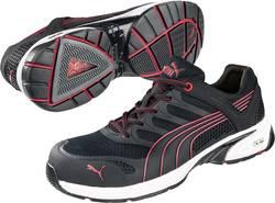 Bezpečnostná obuv S1P PUMA Safety FUSE MOTION RED LOW HRO SRA 642540, veľ.: 43, čierna, červená, 1 pár