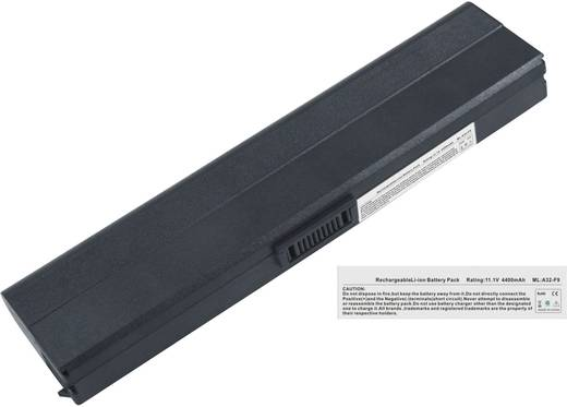 Beltrona Notebook-Akku ersetzt Original-Akku 90-NER1B1000Y, 90-NER1B2000Y, A31-F9, A32-F9 11.1 V 4400 mAh