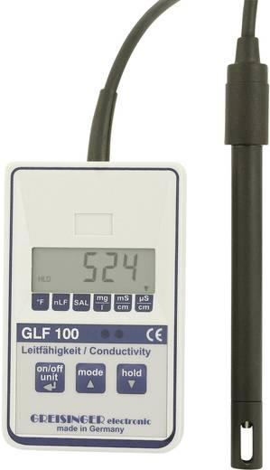 Greisinger GLF 100 Universal-Leitfähigkeitsmessgerät GLF 100 0.5 % 0 µS/cm - 100.0 mS/cm -5 bis 80 °C