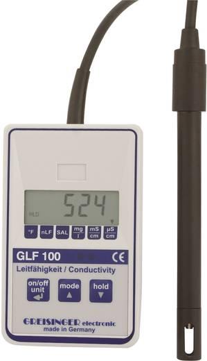 Kombi-Messgerät Greisinger GLF 100 Gelöste Teilchen (TDS), Leitfähigkeit, Temperatur 0 µS - 100.0 mS Kalibriert nach Wer