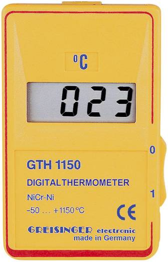 Greisinger GTH 1150 C Temperatur-Messgerät -50 bis +1150 °C Fühler-Typ K Kalibriert nach: DAkkS