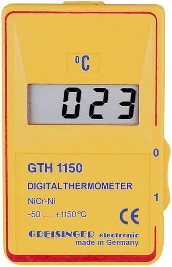 Temperatur-Messgerät Greisinger GTH 1150 C -50 bis +1150 °C Fühler-Typ K Kalibriert nach: ISO