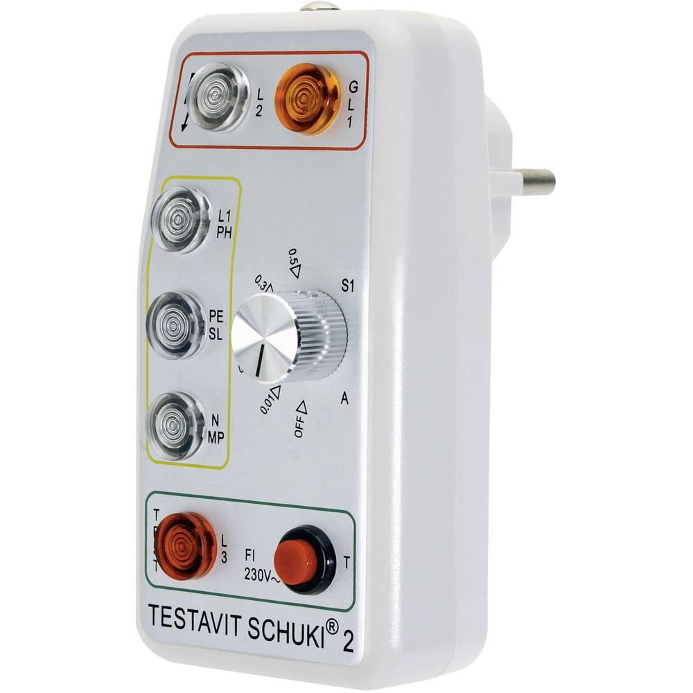 Testeur de prises de courant testavit schuki 2 sur le - Testeur de courant ...