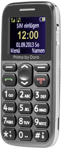 Primo by DORO 215 Senioren-Handy Grau