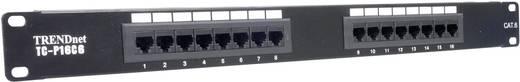 16 Port Netzwerk-Patchpanel TrendNet TC-P16C6 CAT 6 1 HE
