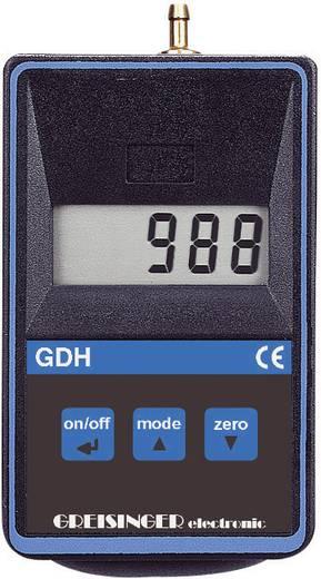Druck-Messgerät Greisinger GDH 200-14 Nicht korrosive Gase 0 - 11 bar Kalibriert nach ISO