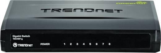 Netzwerk Switch RJ45 TrendNet TEG-S81G 8 Port 1 Gbit/s