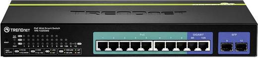 Netzwerk Switch RJ45/SFP TrendNet TPE-1020WS 8 + 2 Port 1 Gbit/s PoE-Funktion