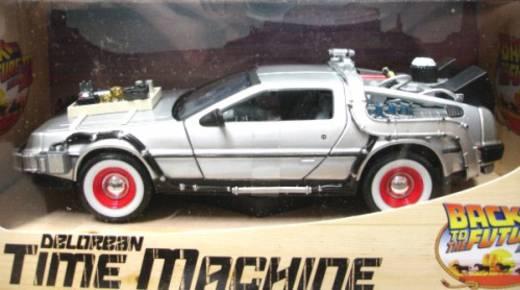 1:24 Modellauto De Lorean Zurück in die Zukunft Teil 3 1:24