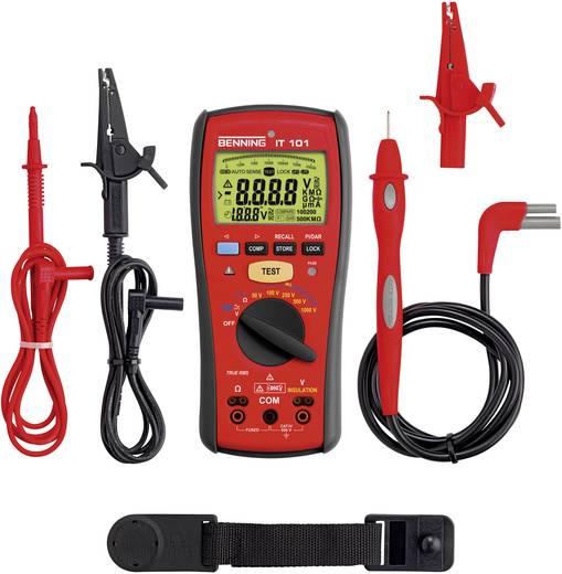 Benning IT 101 50/100/250/500/1000 V 0 - 20 GΩ CAT IV 600 V Kalibriert nach ISO