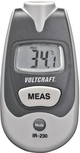 VOLTCRAFT IR-230 Infrarot-Thermometer Optik 1:1 -35 bis +250 °C Pyrometer Kalibriert nach: Werksstandard (ohne Zertifika