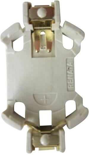 Knopfzellenhalter 1 CR 2032 Horizontal, Oberflächenmontage SMD (L x B x H) 32 x 16 x 5.4 mm Renata 702080