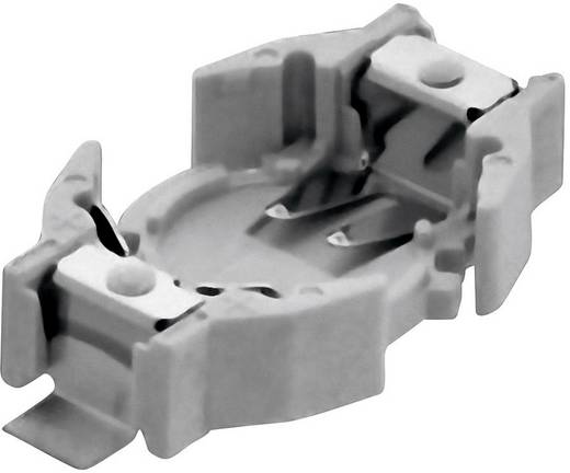 Knopfzellenhalter 1 CR 1220 Horizontal, Oberflächenmontage SMD (L x B x H) 23.7 x 12.7 x 4.8 mm Renata 701114