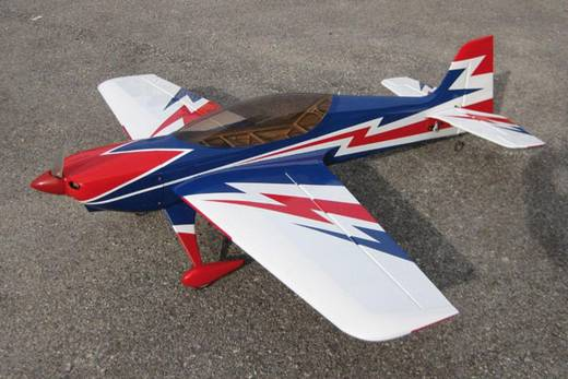 Sebart 30E Weiß, Blau RC Motorflugmodell ARF 1032 mm