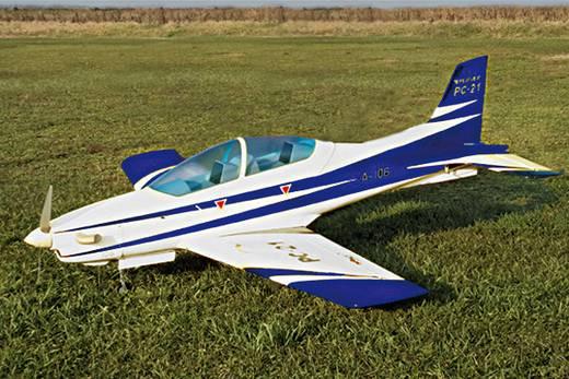 Sebart PC-21 50E Weiss/Blau RC Motorflugmodell ARF 1510 mm