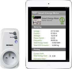 Smart-Energymeter 3 en 1 VOLTCRAFT SEM-3600BT-FR