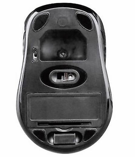 Funk-Maus Optisch Hama AM-7300 Schwarz