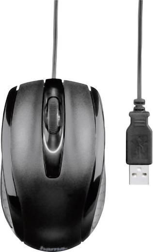 USB-Maus Optisch Hama AM-5400 Schwarz