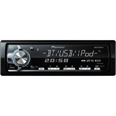 Autoradio Pioneer MVH-X560BT Anschluss für Lenkradfernbedienung, Bluetooth®-Freisprecheinr Preisvergleich