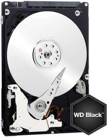 Interne Festplatte 6.35 cm (2.5 Zoll) 750 GB Western Digital Black™ Mobile Bulk WD7500BPKX SATA III