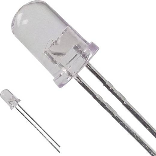 LED bedrahtet Rot Rund 5 mm 2.85 cd 15 ° 50 mA 1.9 V Broadcom HLMP-EG15-RU000