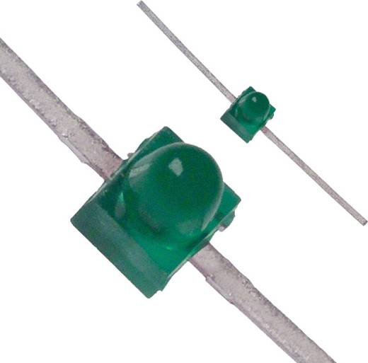 LED bedrahtet Grün Rund 1.9 mm 7 mcd 90 ° 30 mA 2.1 V Broadcom HLMP-6500