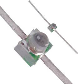 LED 1.9 mm Broadcom HLMP-6505 vert rond 40 mcd 28 ° 30 mA 2.1 V 1 pc(s)