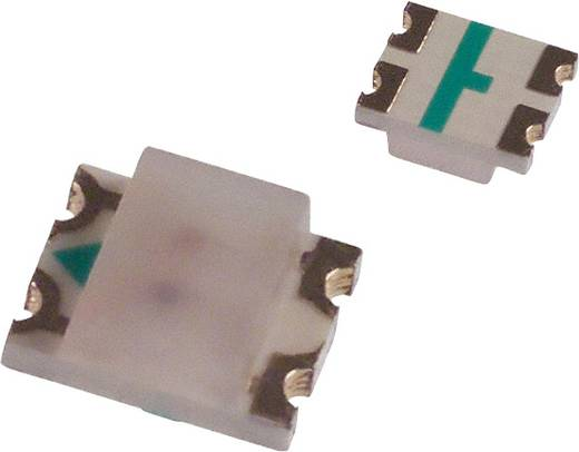 Broadcom HSMF-C156 SMD-LED 3225 Grün, Gelb 15 mcd, 8 mcd 170 ° 20 mA 2.2 V, 2.1 V