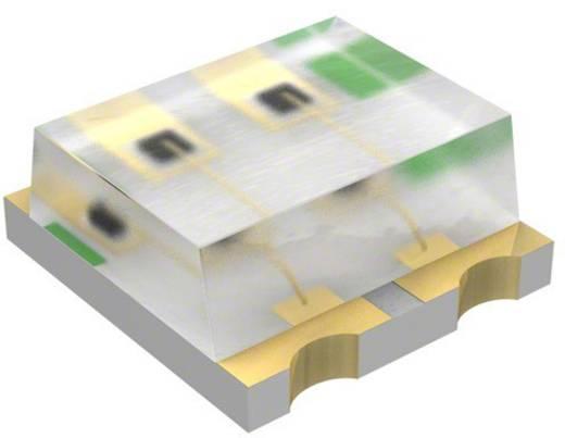 SMD-LED 1616 Rot, Grün, Blau 85 mcd, 180 mcd, 70 mcd 140 °, 145 ° 20 mA 1.9 V, 3.4 V Broadcom HSMF-C114